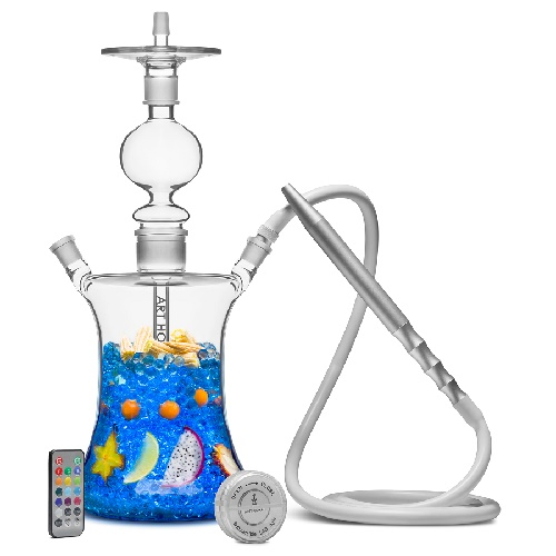 Glass on Glass Hookahs